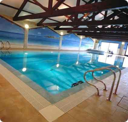 Well Lit Indoor Pool - Indoor Swimming Pool