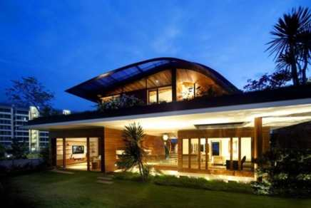Awesome Home at Night - Stunning House Guz Architects