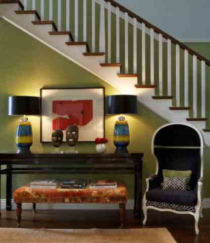 Green entryway spaces for Your Rooms