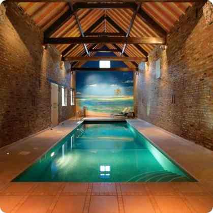 Pretty Looking Indoor Pool