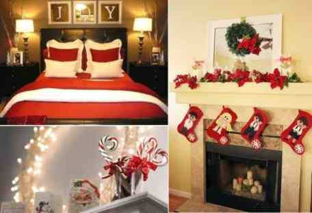 Red Christmas Decor