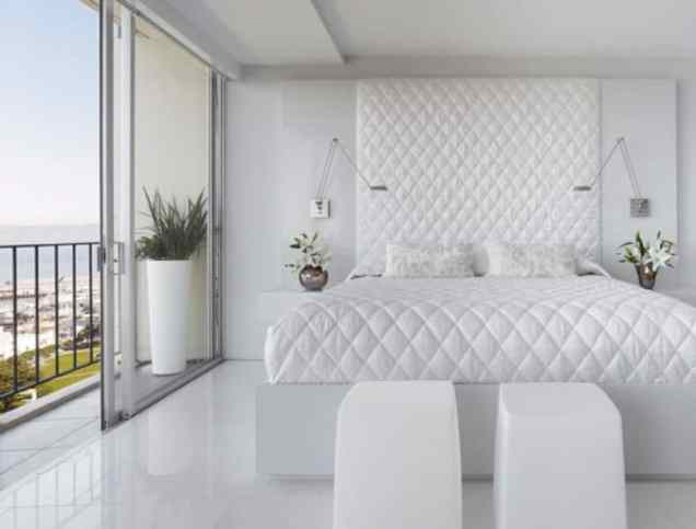 serene white bedroom