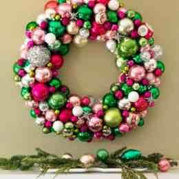 Christmas Wreath - Front Door Area