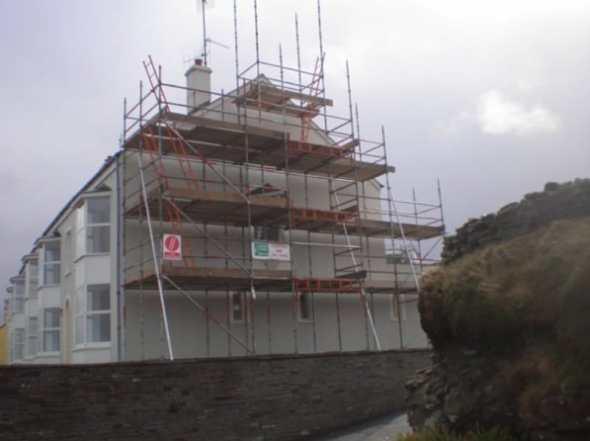 House Repair Scaffolding