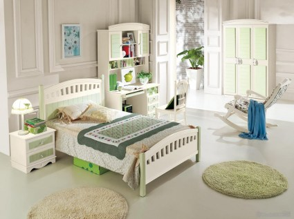 Beautiful Classic Korean Style Bedroom Furniture