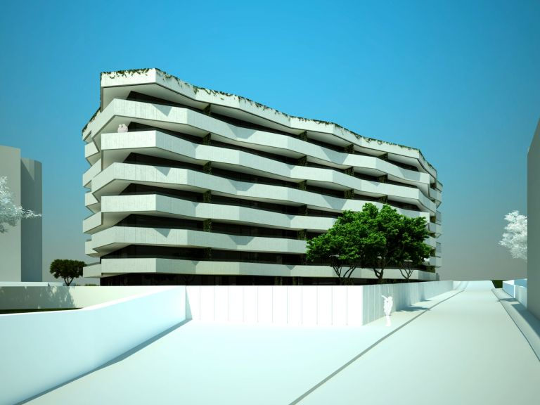 Living Foz apartment building by dEMM arquitectura