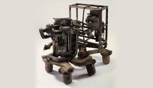 RICHARD MEIER sculpture