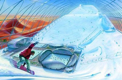 dubai indor ski
