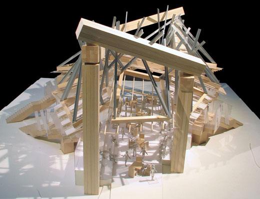 the 2008 Serpentine Gallery Pavillion
