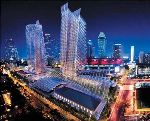 Foster + Partners New Green Complex for Singapore