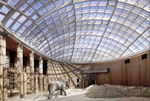 Elephant House opens at Copenhagen Zoo