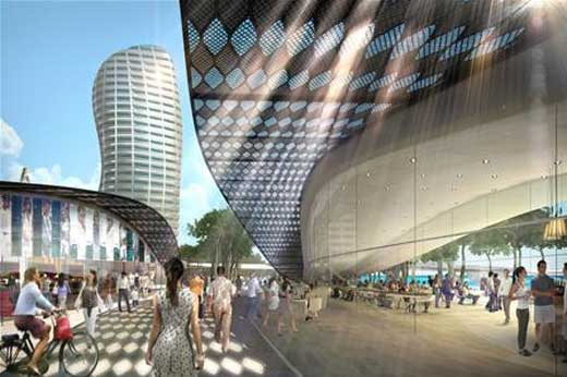 The Rumini Waterfront by Foster+Partners