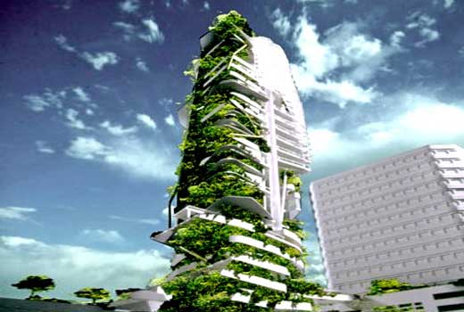 Singapore's Ecological EDITT Tower