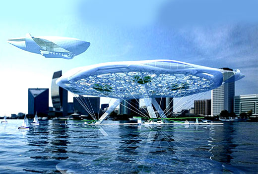 The Floating Aerohotel