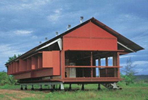 Marika-Alderton House  by glenn murcutt