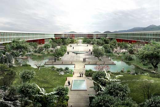 China Life Insurance R&D Center in Beijing by Henn Architekten