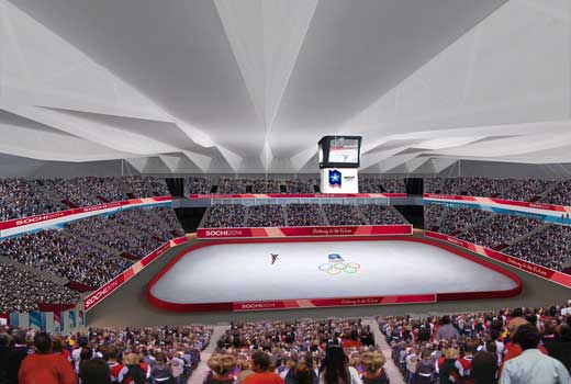 2014 Winter Olympic venue