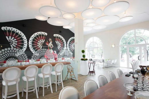 Artistic decoration for brands: Fans for VICTORIA / by Elia Felices Interiorismo