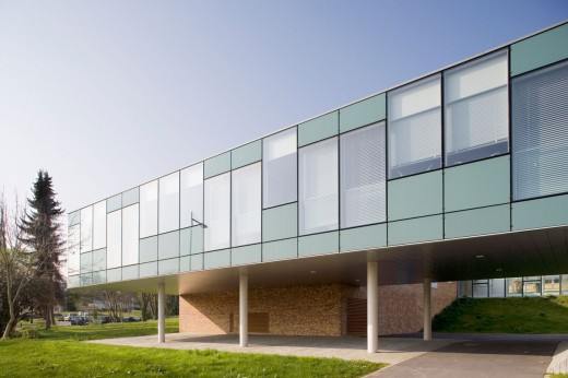 Offices at University of Haute Alsace / by Atelier Zündel & Cristea