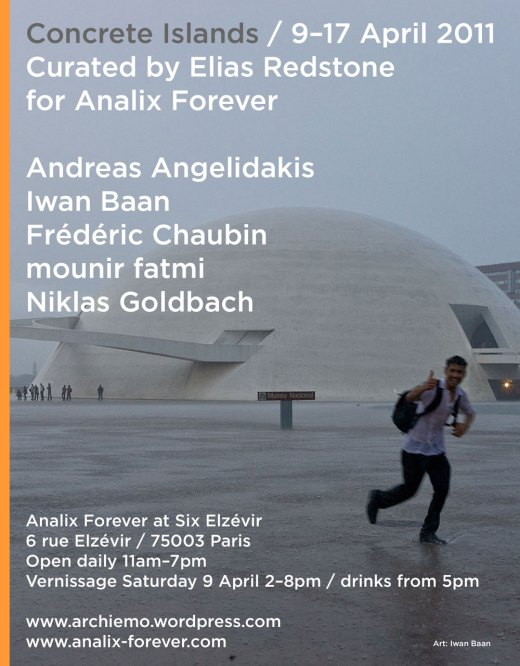 Concrete Islands / 9 - 17 April 2011