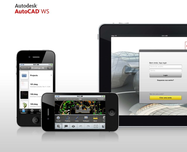 AutoCAD WS mobile application