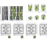 Social Housing of 77 Units in Placa Europa, L'Hospitalet, Barcelona / by Roldan + Berengué, arqts