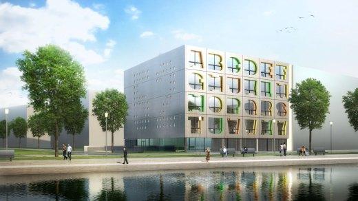 Alphabet Building in Amsterdam / by MVRDV