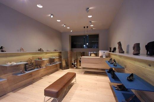 New Seraphita Shoe Shops in Madrid / by  Stone Designs