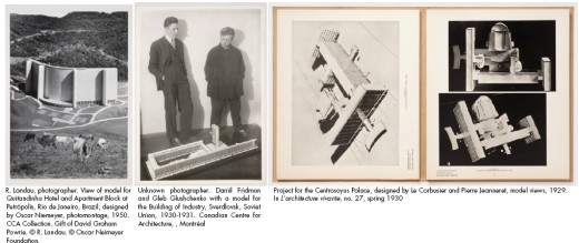 Modernism in Miniature - The Encounter Between Photography and Model Making