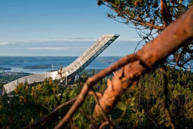 JDS's Holmenkollen Ski Jump has been announced as the winner of the 23rd Norwegian Steel Day Prize
