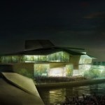 Busan Camellian Opera House / by Matteo Cainer Architects