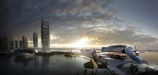 Masterplan for a CBD in Pingtan / by IO DESIGN