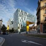 LA CITE DES AFFAIRES IN SAINT-ETIENNE / by Manuelle Gautrand Architecture