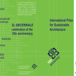 International Prize for Sustainable Architecture - X competition 2013
