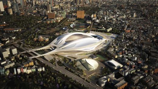 New National Stadium, Tokyo, Japan