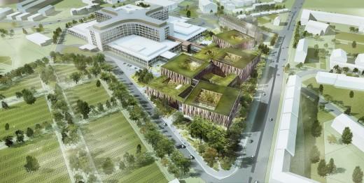 Hospital Project in Sweden / by schmidt hammer lassen architects