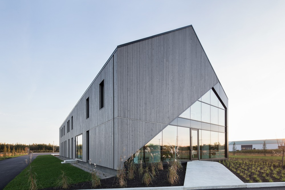 Lareau Headquarter In Napierville Qc Canada By