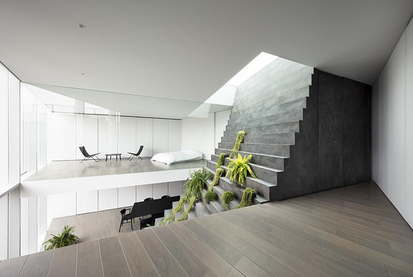 Stairway House, Tokyo /  nendo