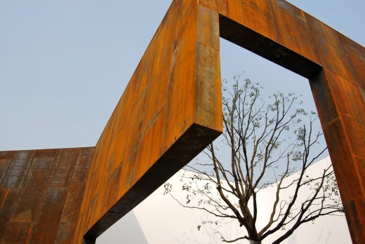Momentary City - CR Land Dongdajie Sales Pavilion - by Vector Architects