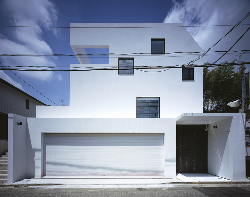 architectural design office workplace kre the room floating house single family location tokyo japan architectno555 tsuchida takuya structural design structured environment kre house by no555 architectural design office architecture list