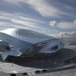 Dalian International Conference Center in China / COOP HIMMELB(L)AU