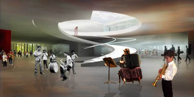 Caracas Symphony Project / adjkm arquitectos