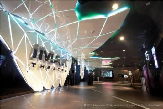 Futuristic Eden at UA Shenzhen Cinema by Alexander Wong Architects