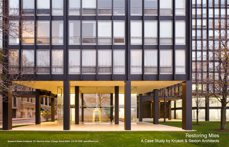 Restoring Mies: A Case Study by Krueck & Sexton Architects