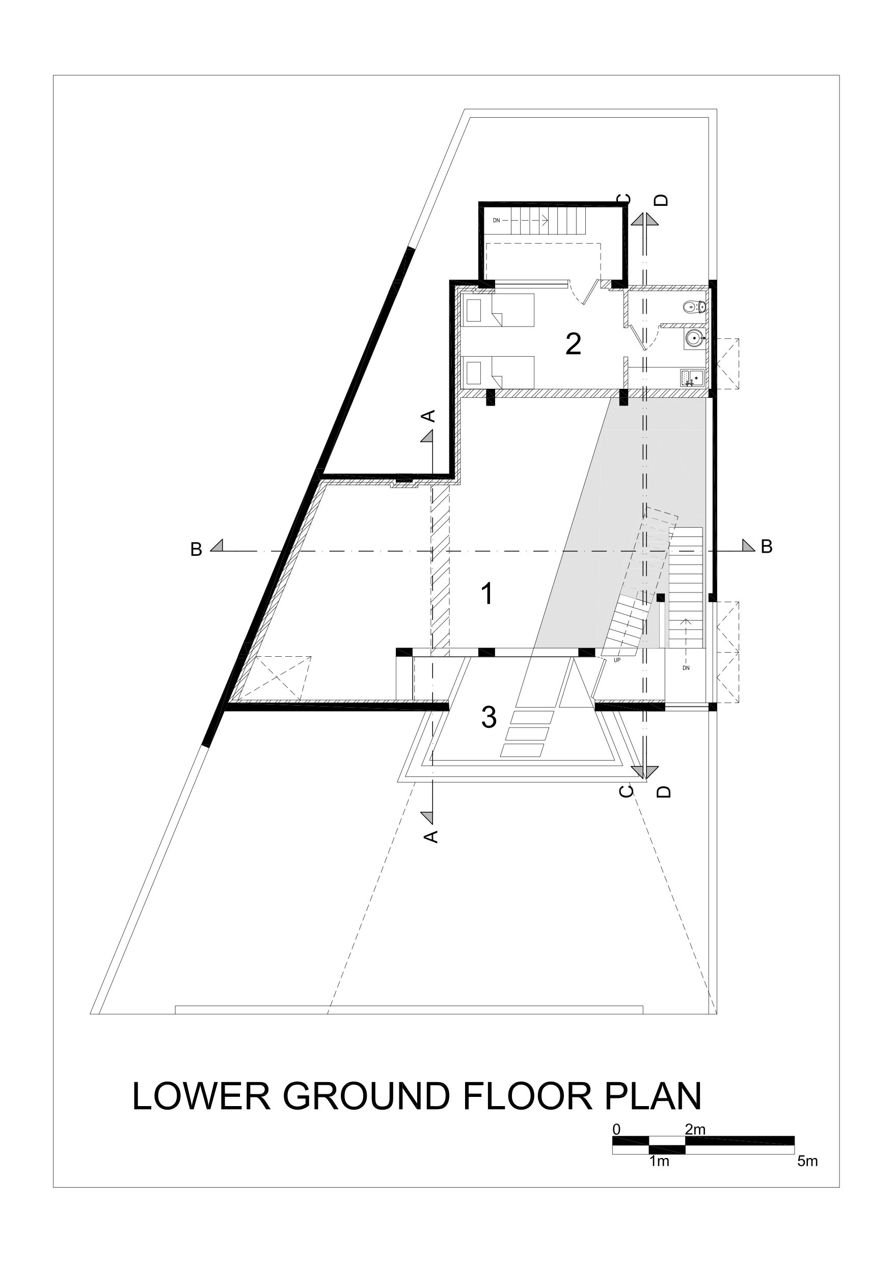 Artovert- Anagram Architects -NOIDA -Upper Ground Plan