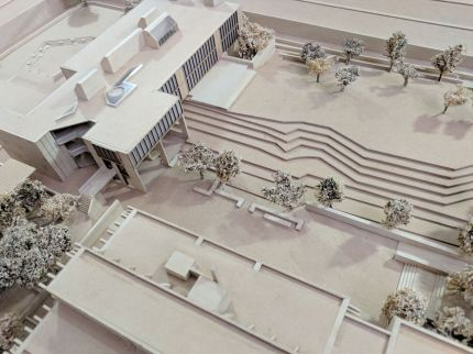 CEPT University Academic Hub proposal by Christopher Benninger