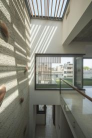 18 play of light and shadow on rough texture of triple height space