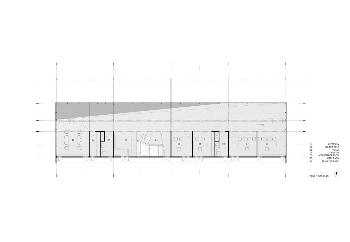 Skyline Office, at Ahemdabad, by FLXBL Design 1