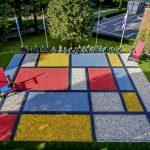 Dutch design in Keukenhof
