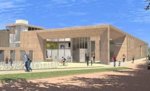 Zwembad valkenhuizen ontwerp van Hooper Architects